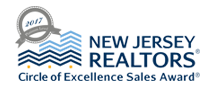 NJ REALTORS Circle of Excellence Award Platinum